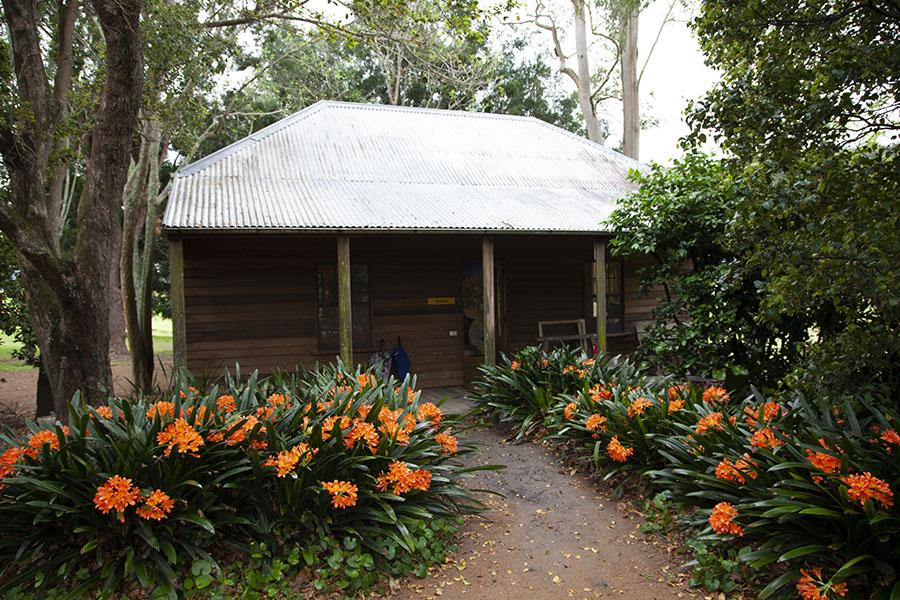 Exterior of Arthur Boyd's studio, Bundanon
